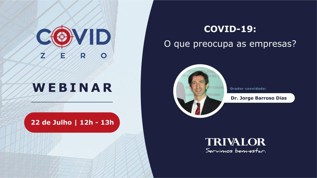 Webinar COVID-19 - O que preocupa as empresas
